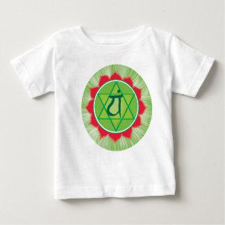 Anahata Baby Fine Jersey T-Shirt, White Baby T-Shirt