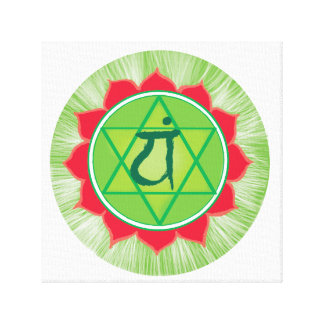 Anahata chakra Heart centre wall decor