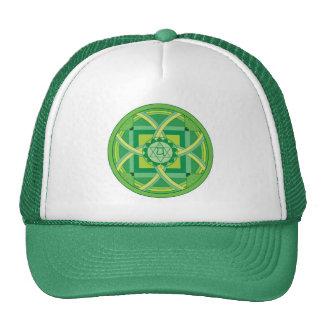 Anahata chakra Mandala Trucker Hats