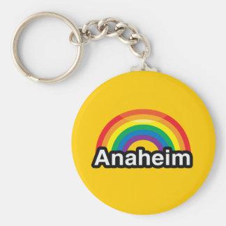 ANAHEIM BASIC ROUND BUTTON KEY RING