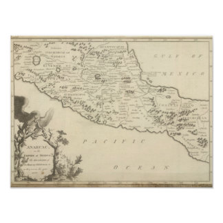 Anahuac, or the Empire of Mexico Poster