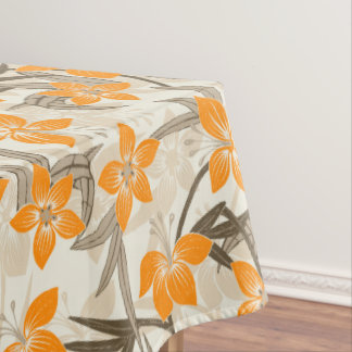 Anaina Hou Hawaiian Tropical Floral Tablecloth