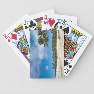 Anakena, Rapa Nui, Easter Island, Chile Bicycle Playing Cards