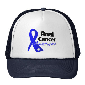 Anal Cancer Awareness Ribbon Trucker Hat