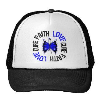 Anal Cancer Faith Love Cure Hats