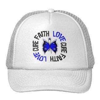 Anal Cancer Faith Love Cure Cap