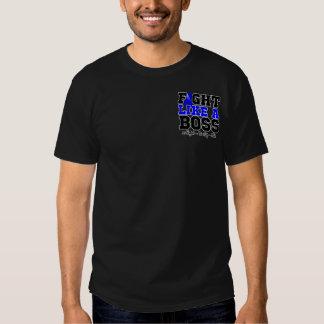 Anal Cancer Fight Like a Boss Tee Shirts