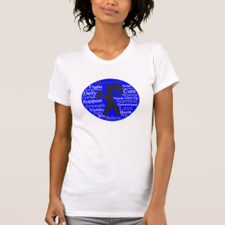 Anal Cancer Fight Like A Girl Collage Shirts