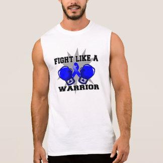 Anal Cancer Fight Like a Warrior Sleeveless T-shirts