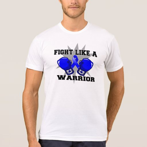 Anal Cancer Fight Like a Warrior T-shirts