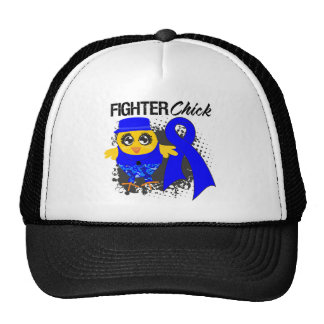 Anal Cancer Fighter Chick Grunge Mesh Hats