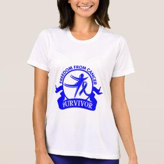 Anal Cancer - Freedom From Cancer Survivor Tshirt