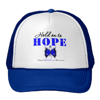Anal Cancer Hold On to Hope Trucker Hat