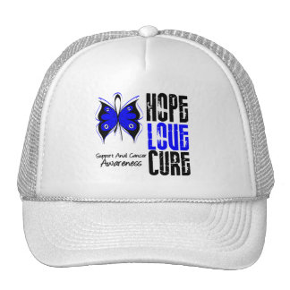 Anal Cancer Hope Love Cure Cap