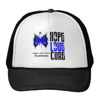 Anal Cancer Hope Love Cure Trucker Hat