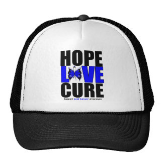 Anal Cancer Hope Love Cure Mesh Hat