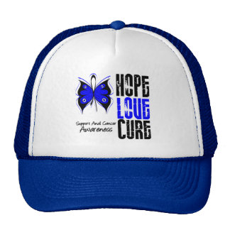 Anal Cancer Hope Love Cure Mesh Hats
