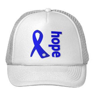Anal Cancer Hope Ribbon Cap