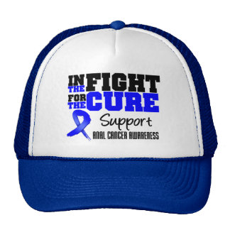Anal Cancer In The Fight For The Cure Trucker Hat