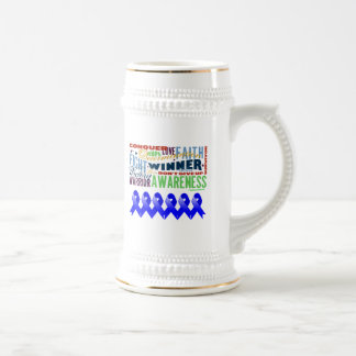 Anal Cancer Inspirational Words Mugs