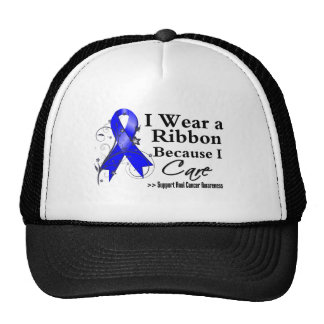 Anal Cancer Ribbon Because I Care Cap