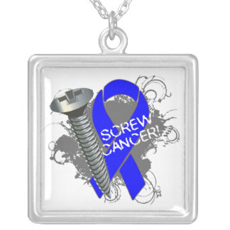 Anal Cancer - Screw Cancer Pendants