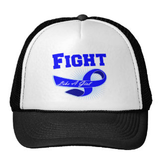 Anal Cancer Sporty Fight Like A Girl Cap