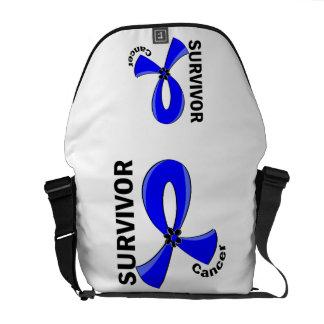 Anal Cancer Survivor 12 Messenger Bag