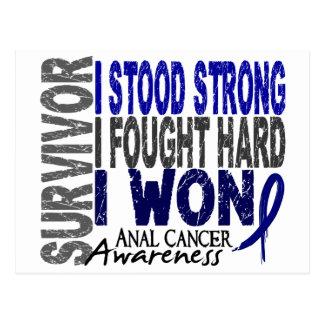 Anal Cancer Survivor 4 Postcard