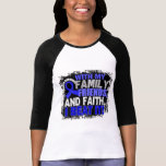 Anal Cancer Survivor Family Friends Faith Tshirt
