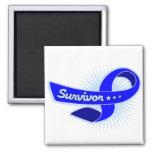 Anal Cancer Survivor Ribbon Magnet