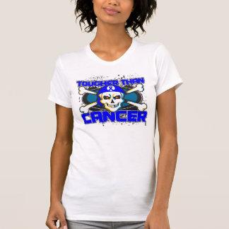Anal Cancer Tougher Than Cancer Skull T-shirt