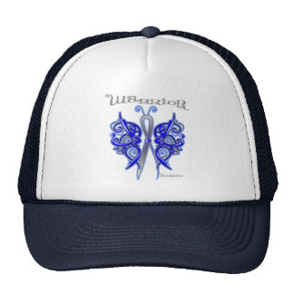 Anal Cancer Warrior Celtic Butterfly Trucker Hat