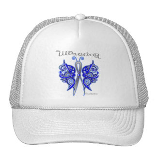 Anal Cancer Warrior Celtic Butterfly Trucker Hats