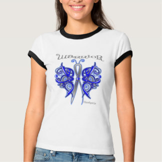 Anal Cancer Warrior Celtic Butterfly Tshirt