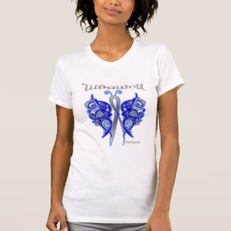 Anal Cancer Warrior Celtic Butterfly Tshirts