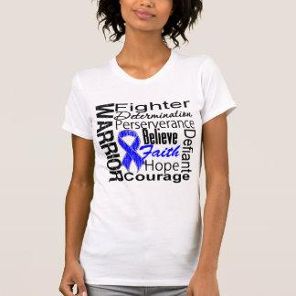 Anal Cancer Warrior Collage Tshirt