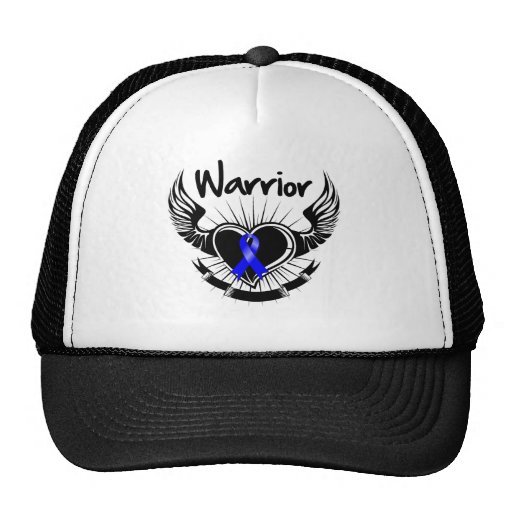 Anal Cancer Warrior Fighter Wings Mesh Hats