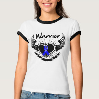 Anal Cancer Warrior Fighter Wings Shirt
