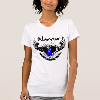 Anal Cancer Warrior Fighter Wings Tee Shirt