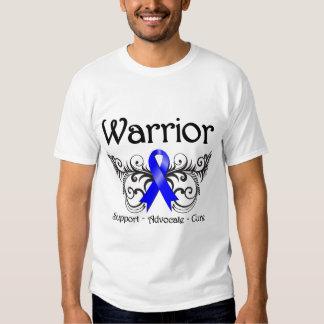 Anal Cancer Warrior Scroll T-shirt