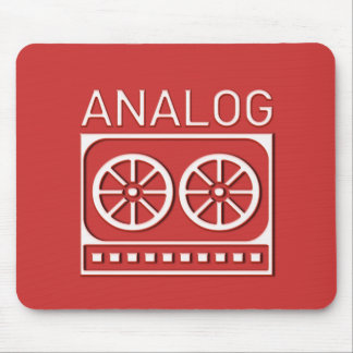 Analog (cassette) mouse pad