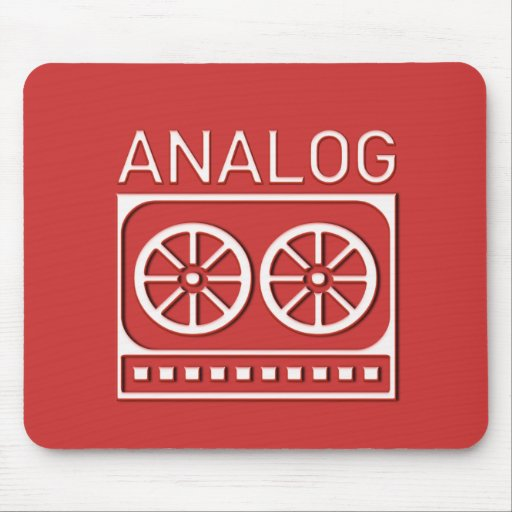 Analog (cassette) mouse pads