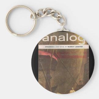 Analog v073 n01 (1964-03.Conde Nast)_Pulp Art Basic Round Button Key Ring