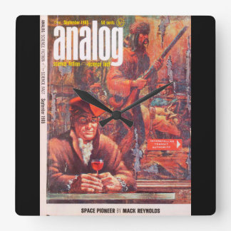 Analog v076 n01 (1965-09.Conde Nast)_Pulp Art Wallclock