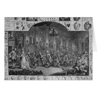 Analysis of Beauty Plate II 1753 Greeting Card