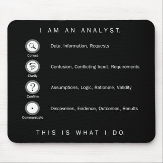 Analyst Mousepad