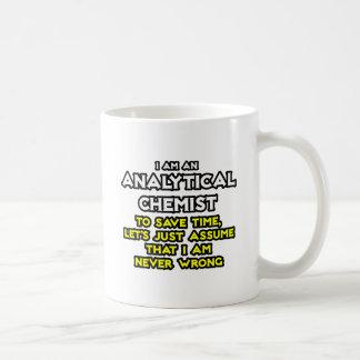 Analytical Chemist...Assume I Am Never Wrong Coffee Mug