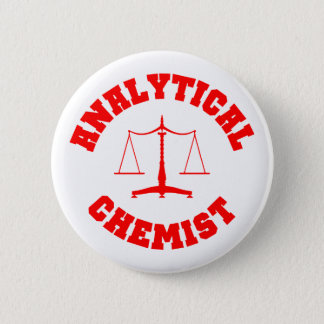 Analytical Chemist Button (red)