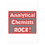 Analytical Chemists Rock! Post Card